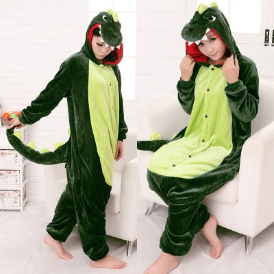 Кигуруми Динозавр (Зеленый)